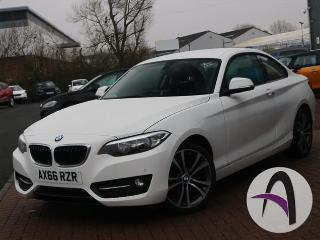 BMW 2 Series Coupe 218d 2.0 Sport 2dr Comfort Pack 18in A Coupe 2016, 19049 miles, £13699