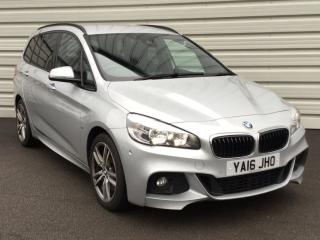 BMW 2 Series 220d xDrive M Sport 5dr Step Auto Estate 2016, 41923 miles, £16891