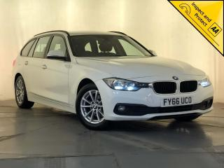 BMW 3 Series 2.0 320d ED Plus Touring s/s 5dr SAT NAV 1 OWNER SVC HISTORY 2016, 110400 miles, £8795