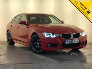 BMW 3 Series 2.0 330e 7.6kWh M Sport Auto s/s 4dr 1 OWNER SERVICE HISTORY HYBRID 2016, 73010 miles, £15500