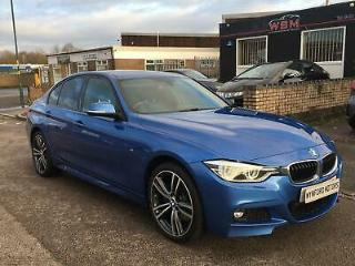 2016 BMW 3 Series 2.0 320d BluePerformance M Sport Auto xDrive s/s 4dr