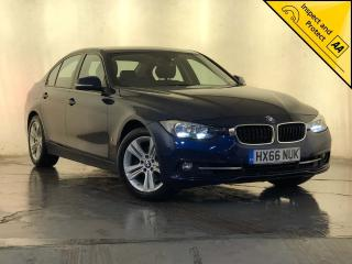 BMW 3 Series 2.0 330e 7.6kWh Sport Auto s/s 4dr SAT NAV 1 OWNER SVC HISTORY 2016, 72370 miles, £14000