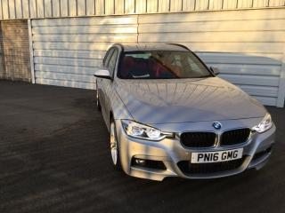 BMW 3 Series 335d xDrive M Sport 5dr Step Auto Estate 2016, 27301 miles, £21499