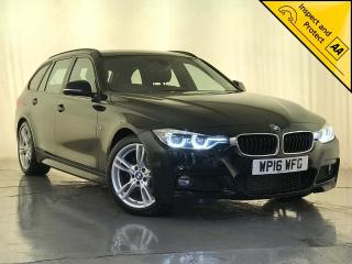 BMW 3 Series 2.0 320d M Sport Touring Auto s/s 5dr 1 OWNER SERVICE HISTORY 2016, 102320 miles, £10500