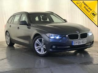 BMW 3 Series 2.0 320d ED Sport Touring s/s 5dr 1 OWNER SERVICE HISTORY 2016, 109400 miles, £9495