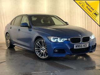 BMW 3 Series 2.0 330e 7.6kWh M Sport Auto s/s 4dr 1 OWNER HEATED LEATHER SEATS 2016, 100150 miles, £14500