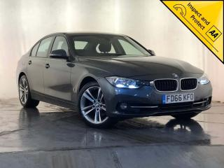 BMW 3 Series 2.0 330e 7.6kWh Sport Auto s/s 4dr 1 OWNER SERVICE HISTORY 2016, 62080 miles, £13500