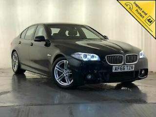 2016 BMW 520D M SPORT LEATHER INTERIOR HEATED SEATS SAT NAV 1 OWNER SVC HISTORY