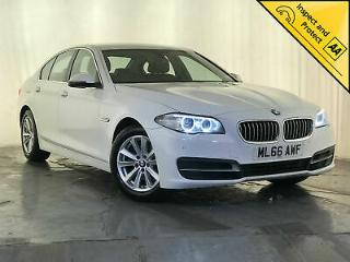 2016 BMW 520D SE AUTO LEATHER INTERIOR £20 ROAD TAX NAV 1 OWNER SERVICE HISTORY