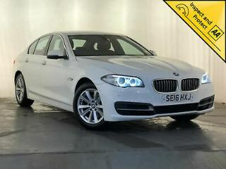 2016 BMW 520D SE AUTO LEATHER INTERIOR SAT NAV £20 ROAD TAX SERVICE HISTORY