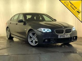 BMW 5 Series 2.0 520d M Sport 4dr SAT NAV 1 OWNER SVC HISTORY 2016, 86290 miles, £13000