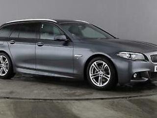 2016 BMW 5 Series 2.0 520d M Sport Touring 5dr Diesel grey Automatic