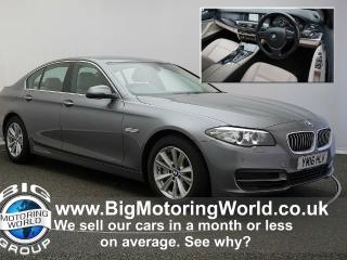 BMW 5 Series 525D SE Saloon 2016, 42974 miles, £14000