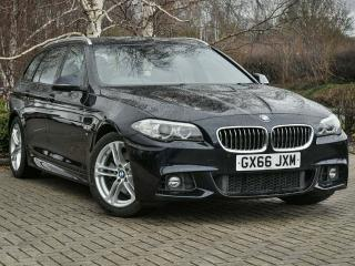 BMW 5 Series 520d M Sport Touring 2016, 50836 miles, £15999