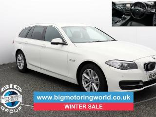 BMW 5 Series 520D SE TOURING Estate 2016, 41193 miles, £13000