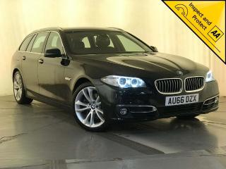 BMW 5 Series 2.0 525d Luxury Touring 5dr 1 OWNER SERVICE HISTORY 2016, 77850 miles, £14000