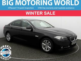 BMW 5 Series 520D SE Saloon 2016, 30669 miles, £15400