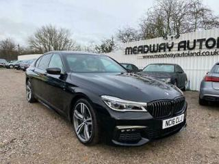 2016 BMW 7 Series 3.0 740d M Sport Saloon 4dr Diesel Auto xDrive s/s 320 ps