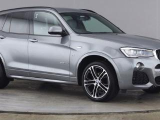 BMW X3 2.0 XDRIVE20D M SPORT 5d AUTO M SPORT PLUS PACKAGE 2 OWNERS HEATED BLACK NEVADA LEATHER UPGRADE 20 Estate 2016, 48000 miles, £21250