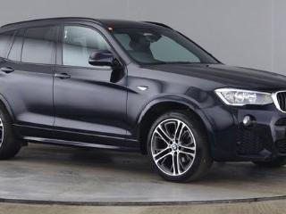 BMW X3 2.0 XDRIVE20D M SPORT 5d AUTO 1 OWNER FROM NEW HEATED BLACK NEVADA LEATHER UPGRADE 20 Estate 2016, 37000 miles, £20900