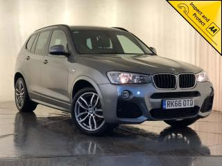 BMW X3 2.0 20d M Sport Sport Auto xDrive 5dr 1 OWNER, SERVICE HISTORY 2016, 104050 miles, £15000