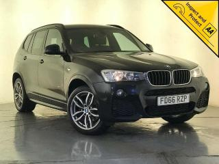 BMW X3 2.0 20d M Sport Sport Auto xDrive 5dr 1 OWNER SERVICE HISTORY 2016, 92360 miles, £16000