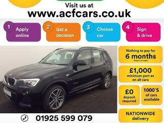 BMW X3 XDRIVE20d M SPORT CAR FINANCE FROM £83 PW Auto Other 2016, 31000 miles, £20490