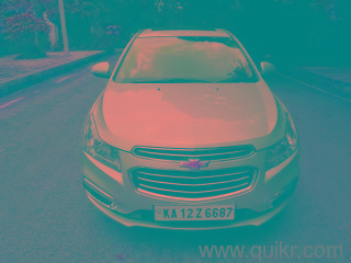 Silver 2016 Chevrolet Cruze LTZ AT 50000 kms driven in Frazer Town
