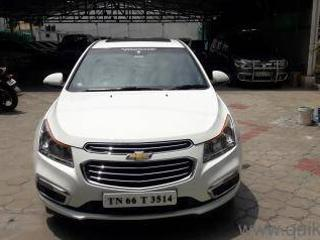 White 2016 Chevrolet Cruze LTZ 51,000 kms driven in Tatabad