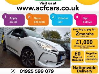 DS DS 3 PURETECH ELEGANCE S/S CAR FINANCE FR £33 PW Hatchback 2016, 33000 miles, £6990