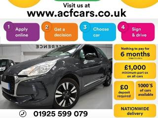 DS DS 3 PURETECH CHIC CAR FINANCE FR £31 PW Hatchback 2016, 23000 miles, £6490