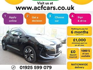 DS DS 3 PURETECH CHIC CAR FINANCE FR £31 PW Hatchback 2016, 39000 miles, £6490