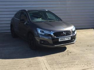 DS DS 4 1.6 BlueHDi Crossback 5dr Hatchback 2016, 24469 miles, £9499