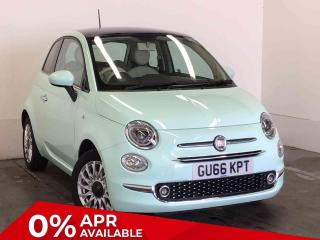 Fiat 500 1.2 Lounge 3 door Hatchback, 18744 miles, £7289