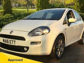 2016 Fiat Punto 1.2 Easy+ 5dr Manual Petrol Hatchback