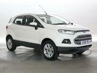 2016 Ford Ecosport 1.5 TDCi Zetec Hatchback Diesel Manual