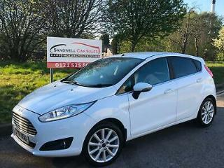 2016 FORD FIESTA 1.0 T ECOBOOST TITANIUM 5DR # FULL FORD SERVICE HISTORY #