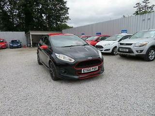 2016 Ford Fiesta 1.0 T EcoBoost Zetec S Black Edition s/s 3dr