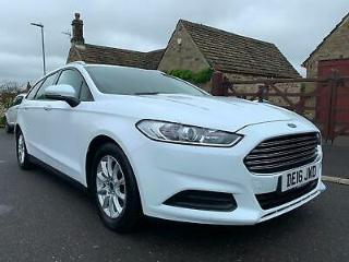 2016 FORD MONDEO 1.5 TDCI ecoNETIC STYLE S/S 5DR WHITE