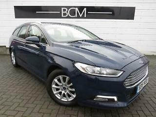 2016 Ford Mondeo 2.0 TDCi Zetec s/s 5dr Diesel blue Manual