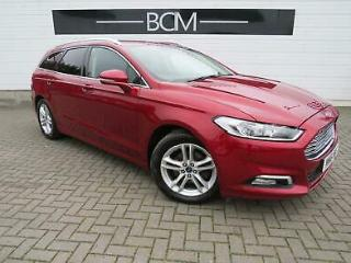 2016 Ford Mondeo 2.0 TDCi Zetec s/s 5dr Diesel red Manual