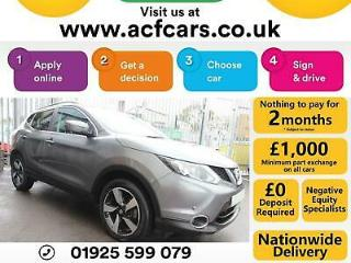 2016 GREY NISSAN QASHQAI 1.6 DCI 130 N CONNECTA XTRONIC CAR FINANCE FR £50 PW