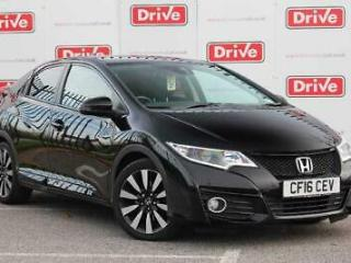 2016 Honda Civic 1.8 i VTEC SE Plus 5dr Auto [Nav] Hatchback Automatic Hatchback