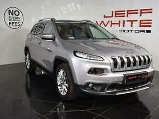 2016 Jeep Cherokee 2.2 Multijet 200 Limited 5dr 4WD Automatic Diesel grey Automa