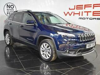 2016 Jeep Cherokee 2.2 Multijet 200 Limited 5dr Automatic Diesel blue Automatic