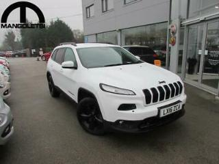 2016 Jeep Cherokee 2.2 MultiJet II Night Eagle 4WD s/s 5dr Diesel white Automa