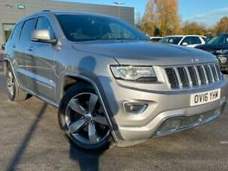 2016 Jeep Grand Cherokee 3.0 CRD Overland 5dr Automatic Diesel 4x4