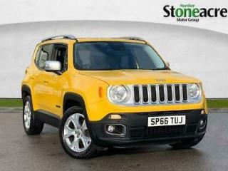 2016 Jeep Renegade 1.4 T MultiAirII Limited SUV 5dr Petrol DDCT s/s 140 ps