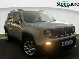 2016 Jeep Renegade 1.4 T MultiAirII Longitude SUV 5dr Petrol DDCT s/s 140 ps
