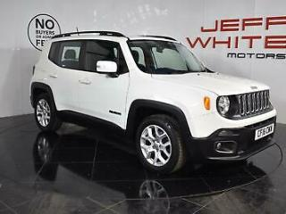 2016 Jeep Renegade 1.6 Multijet Longitude 5dr Diesel white Manual